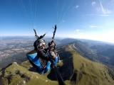 Vol Découverte en Biplace Parapente au dessus des crêtes du Jura