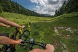 VTT dans les Monts Jura